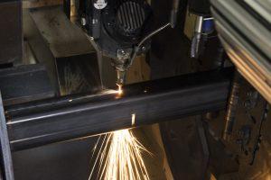 laser tube cutting