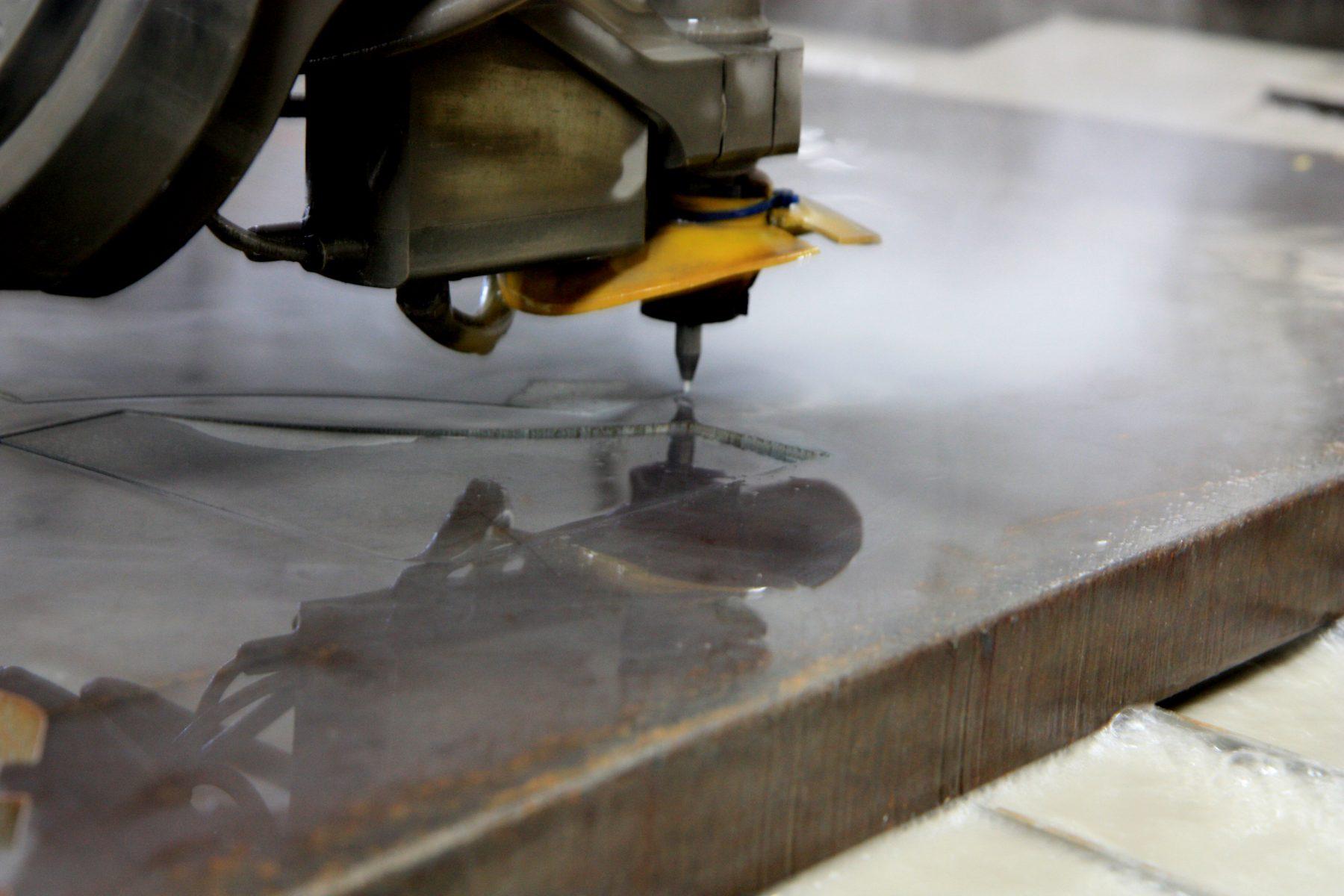 PA Custom Water Jet Cutting Services | Metal & Foam | Yoder